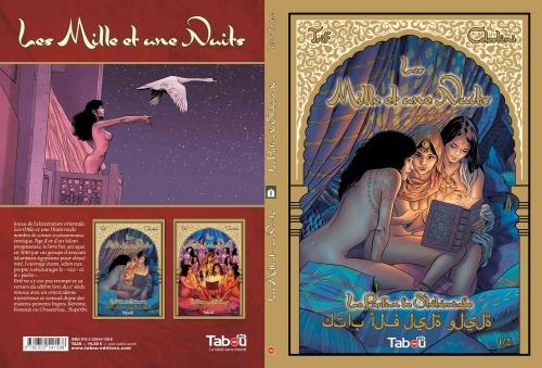 les mille et une nuits,bd,contes,érotisme,sexe,favorite,sultan,trif,andrea celestini,claire nyman,tabou,orientalisme