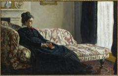 Claude Monet Méditation. Mme Monet au canapé, vers 1871. Huile sur toile, H. 48 x L. 75 cm UTILISATION DP et photothèque.jpg