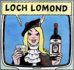 hergé,tintin,haddock,tournesol,loch lomond,whisky
