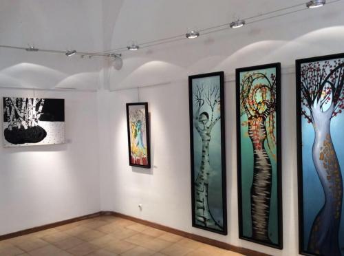 galerie,simona de simoni,patricia tozzi,toulon,arbres,nature,exposition