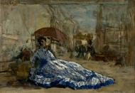 boudin,monet,courbet,millet,whistler